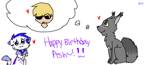 Happy Birthday Ash! by tobiokageyama