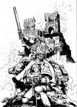 Cover for Warhammer 40,000 Revelations #2 by Spacefriend-T