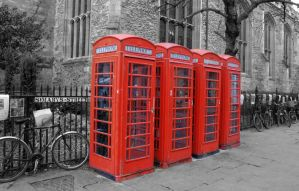 Telephone Boxes by astrogoth13