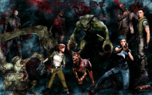 Resident Evil Wallpaper by MarvelousMark