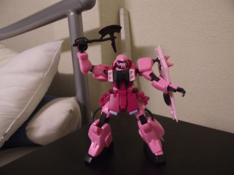 lacus zaku by CloudNeinStudio-Art