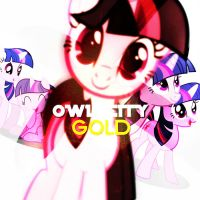 (Twilight Sparkle) Gold - Owl City by ShiningDiamonds