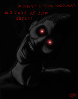 Afraid Of The Dark Version Red by irdeadite