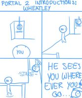 Portal2 Introductions:Wheatley by DawnDove