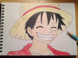 Monkey D Luffy by mcann19