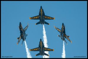 Blue Angels 2016 by AirshowDave