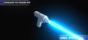 Renegade Phaser V2 WIP-Test Fire by GregStitz