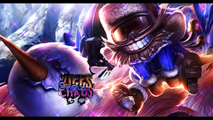 Ziggs Snowman by NaimGFX