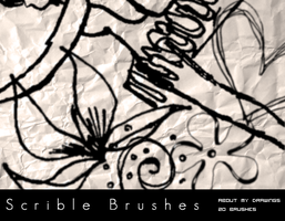 Scribbles and Doodles Brushes by bum23