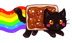 Chocolate Nyan Cat by bricu