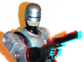 RoboCop Anaglyph 3D by zentron
