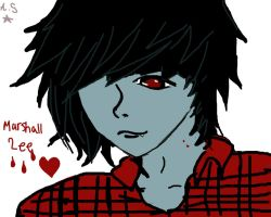 Marshall Lee by StarrAlpha