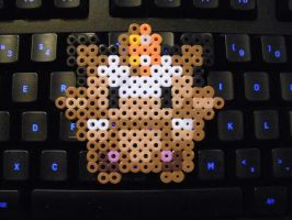 Meowth Pokedoll Perler by musical28