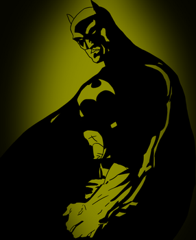 The Dark Knight. by DooDLe125