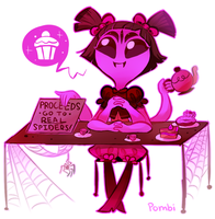 Muffet by pombity
