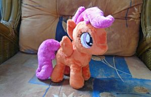 Scootaloo Plush by navkaze