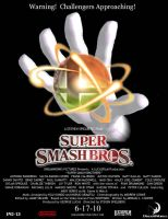 Super Smash Bros. Movie Poster by TheRabidArtist