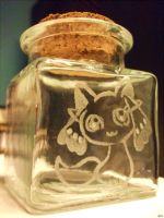 Kyubey's Jar of Contracts by Yarn-and-Ink