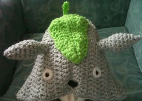 Totoro Ears and Leaf Patterns by Vivacia18