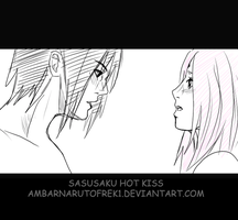 Sasusaku Hot kiss by ambarnarutofrek1