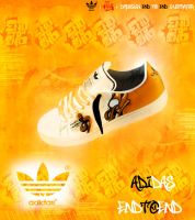 Adidas End To End Ilustration by Dm-Design
