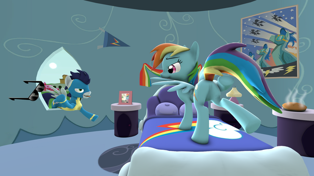 Rainbow morning by CharlyDasher
