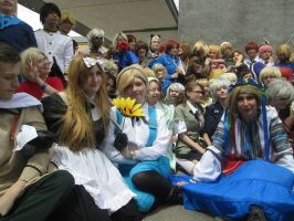 Hetalia Meetup photoshoot by lololo90