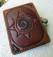 Hearthstone Leather Card Wallet by Kaje202