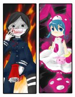 Pop'n bookmarks by lisu-c