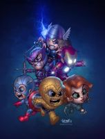 Little Avengers! by erickarciniega