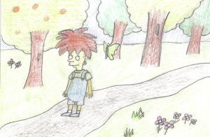 Gino In The Woods by therealmoshmonkey