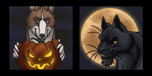 Halloween Icons! For Sale! by DragonessDeanna