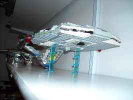 Lego Star Trek Enterprise-E Sovereign class 1 by ENT2PRI9SE