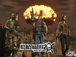 Mercenaries 2 Wallpaper by cyborgakadjmoose