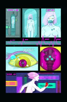 Neon Wasteland Issue #0 Page 2 by RobShields