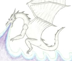 Purplefire White Dragon by Neptas