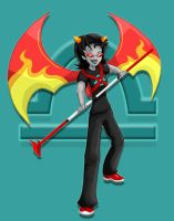 Terezi with jetpack by SuperiorDragonFan