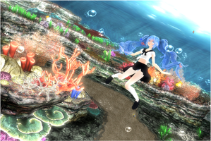 MMD Underwater... + Links by ManjapanUniverse
