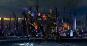 Mass Effect - Unstoppable Power by Seracen