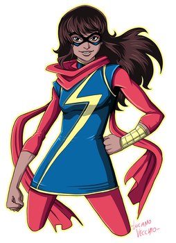 Ms Marvel by LucianoVecchio