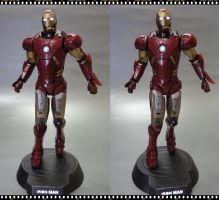 [:IRONMAN:] Paperfigure 3D View by BRSpidey