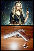 Sucker Punch Babydoll's Colt Government 1911 by Drawer88
