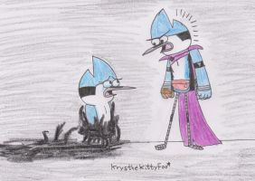 Promotional pic_Fight for the world Mordecai by Krys-DamianiFoo