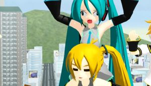 MMD My New Motion Data LA BOMBA!! by Magic-yumi