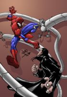 Spiderman Vs Doctor Octopus by Heman86