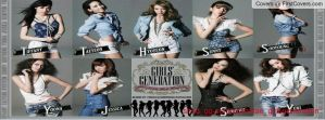 snsd Japanese arena tour Facebook cover by alisonporter1994
