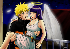 Angel Hinata_Color by Arni-chan