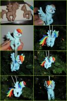 Hanging Rainbowdash by AnimeGeer