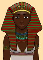 Queen Hatshepsut Colored by DaBrandonSphere