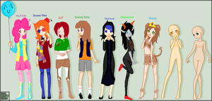 My fandoms (unfinished) by Terezilover221